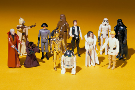 Finding Star Wars Action Figures Collection